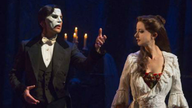"A scene from the new touring production of ""Phantom of The Opera."""