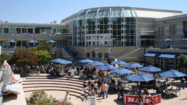 The Price Center at UC San Diego. Photo by Alex Hansen  via Wikimedia Commons