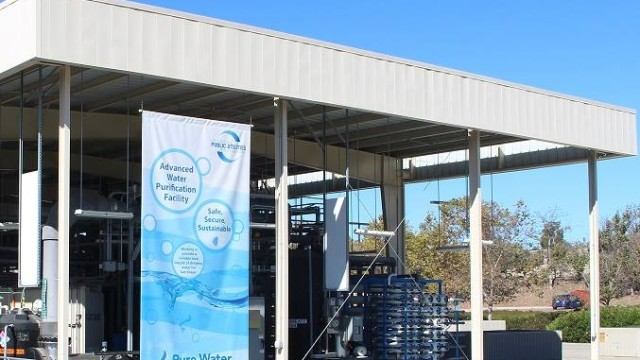 The San Diego water recycling demonstration plant. Courtesy Pure Water San Diego