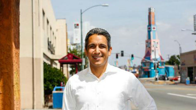 San Diego City Council candidate Ricardo Flores. Campaign photo