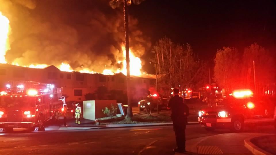 Predawn Inferno Guts La Mesa Hotel Times Of San Diego