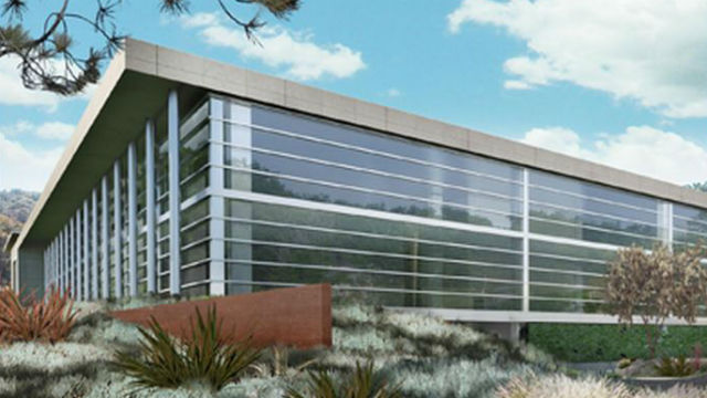 A rendering of one of the new buildings planned. Courtesy DGA
