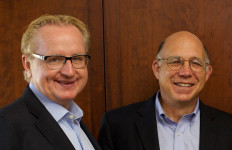 Steve Kay (left) and Peter Schultz. Courtesy Scripps Research Institute