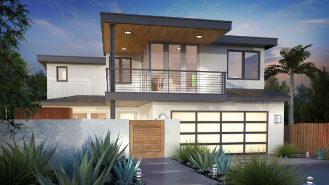 a modern home in leucadia that is on the home tour