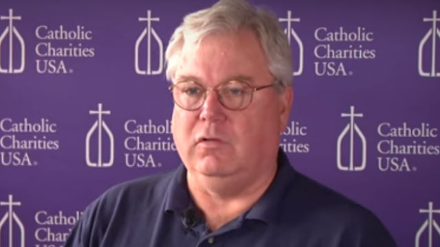 Arne John Nelson. Image from Catholic Charities of Dallas video