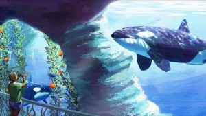 Artist's rendering of Blue World Project at SeaWorld San Diego. Image via seaworld.com