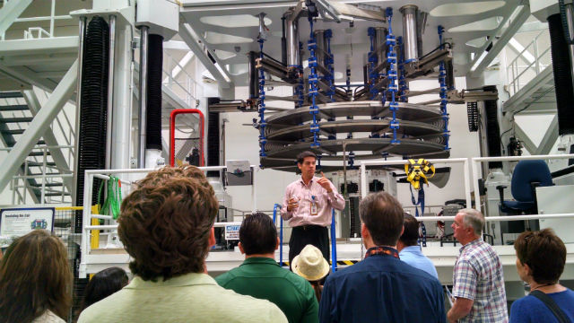 Public Gets Rare Glimpse Of General Atomics Giant Magnets Times