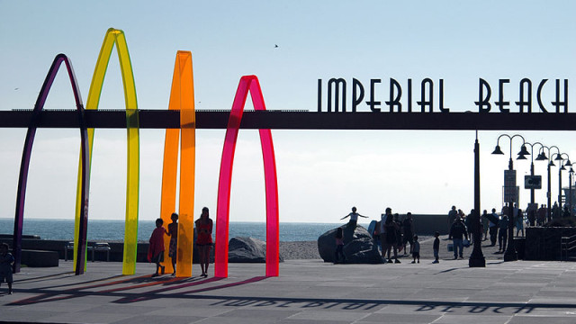 Imperial Beach. Photo courtesy of Wikimedia Commons, by Henryk Kotowski.