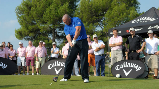 British long drive champion Joe Miller has been sponsored by Callaway. Photo via Wikimedia Commons