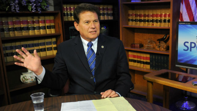 State Sen. Marty Block during an interview in Sacramento. Courtesy Block's office