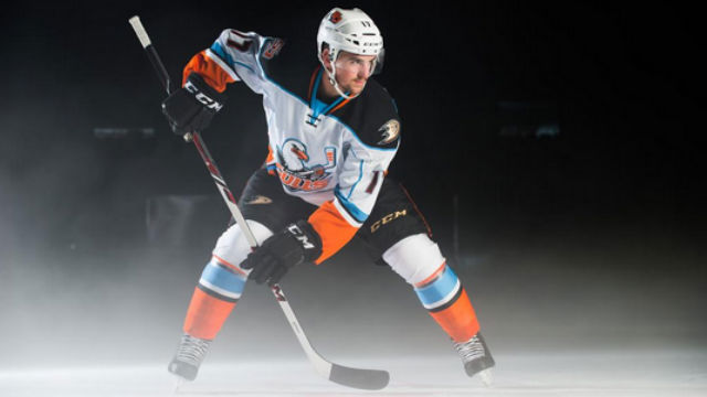 Nic Kerdiles of the San Diego Gulls. Image from Gulls Twitter feed