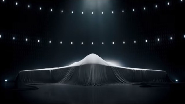 Image from Northrop Grumman ad for the next-generation bomber.
