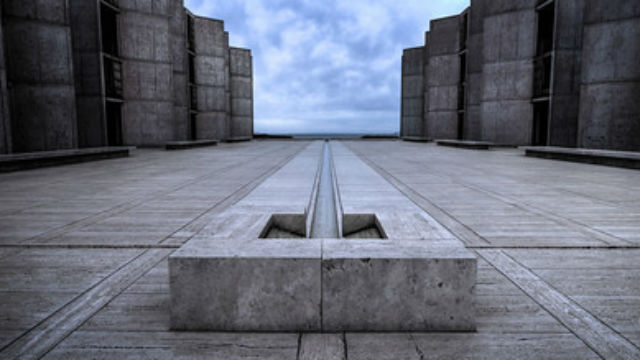 The landmark Salk Institute in La Jolla. Courtesy of the mayor's office