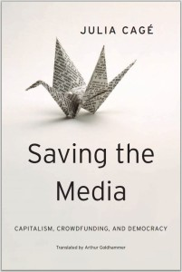 "Upcoming English translation of ""Saving the Media."""