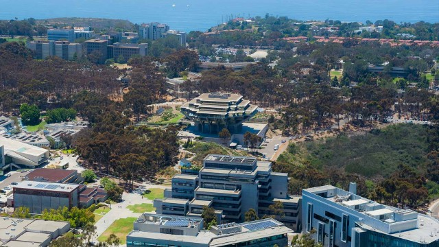 UC San Diego. Photo courtesy of Erik Jepsen/UC San Diego Publications