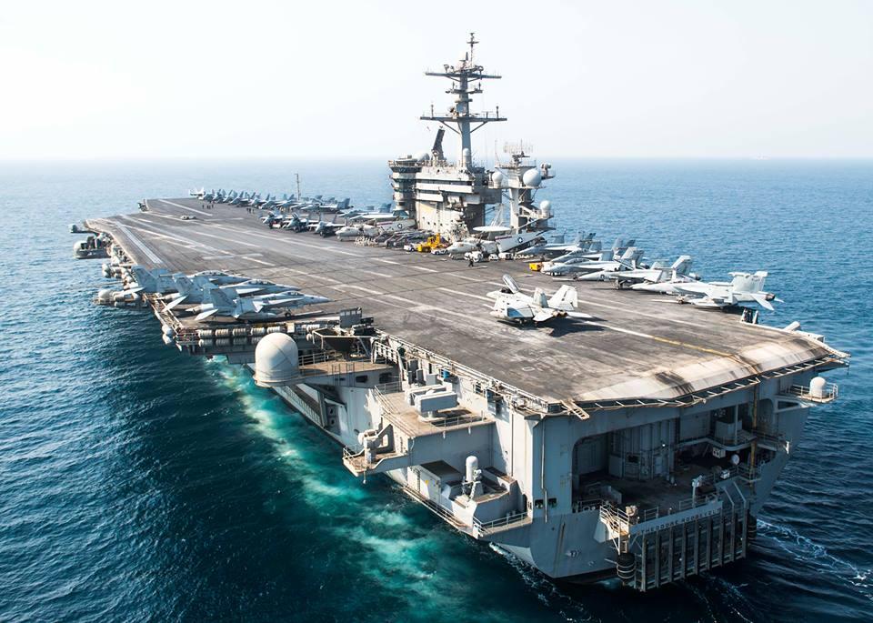 USS Theodore Roosevelt. Photo by Mass Communication Specialist Seaman Alex Millar/US Navy