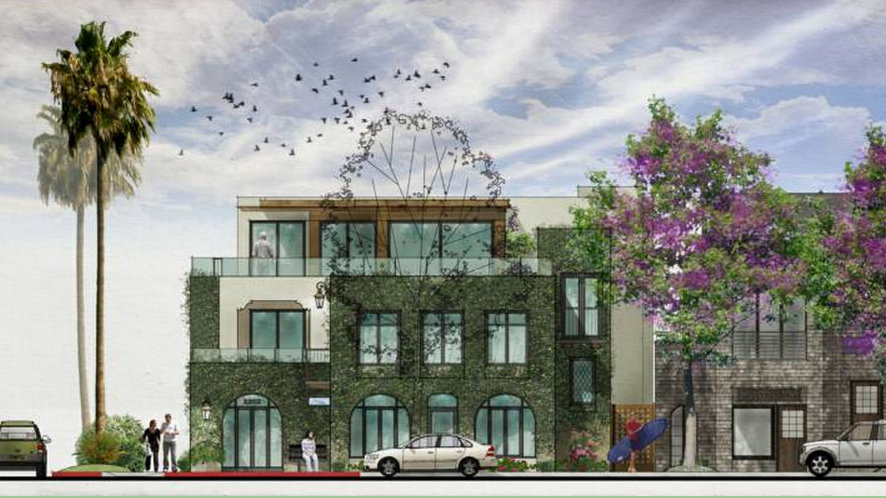 The Whitney mixed-use building. Photo courtesy of the La Jolla Tomorrow
