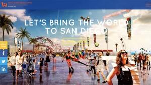 San Diego bid site for World Beach Games in 2017.  Image via worldbeachgamessandiego.org