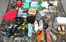 Stolen possessions stored in a North County storage. Photo courtesy of the San Diego Sheriff's Department