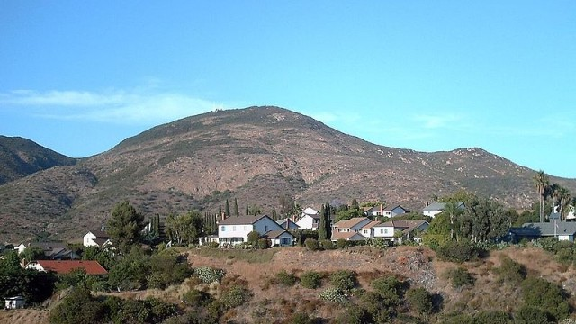 Cowles Mountain. Photo courtesy of Bob DuHamel from Wikimedia Commons.