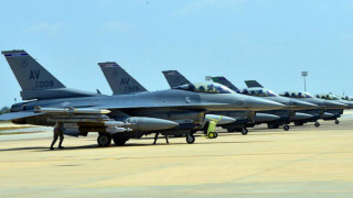 F-16 fighters assigned to Operation Inherent Resolve at Incirlik Air Base in Turkey. Air Force photo
