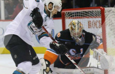 Shootout action at Friday's nights game. Courtesy San Diego Gulls