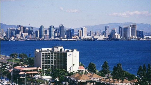 The San Diego Hilton Airport/Harbor Island. Courtesy of the hotel
