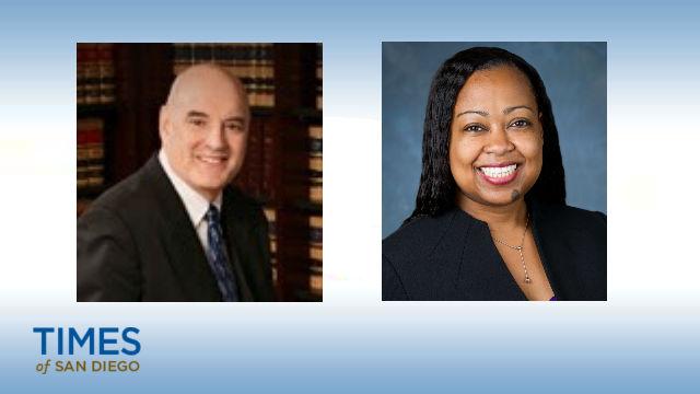 James Mangione and Tilisha Martin. Photo courtesy of the Governor's Office