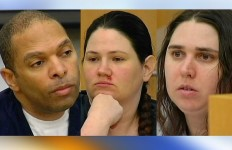 Louis Ray Perez, Dorothy Maraglino and Jessica Lynn Lopez. Photo courtesy of 10 News