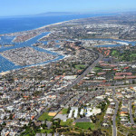 Aerial view of Newport Beach