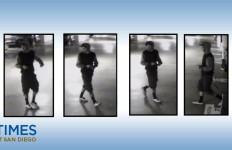Oceanside police are circulating this photo of the man suspected of breaking into cars at the beach in the hopes of catching him. Photo courtesy of the OPD