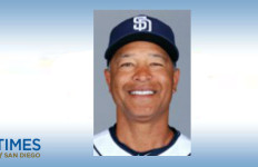 Dave Roberts. Photo courtesy of the San Diego Padres