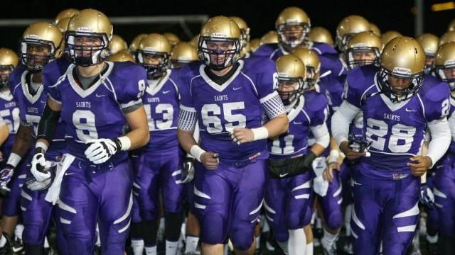 The St. Augustine football team. Courtesy of Recruiting News Guru.