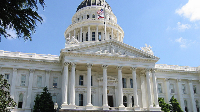 California Capitol Building in Sacramento, April 5, 2004. Photo by  jjkbach / Flickr.