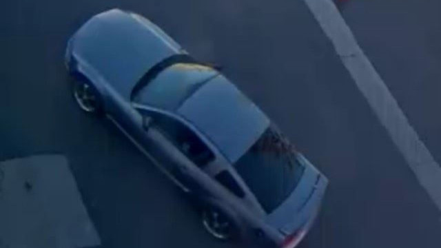Police believe this is the car of the suspect wanted in connection to three random stabbings in the South Bay. Photo courtesy of the Chula Vista Police Department