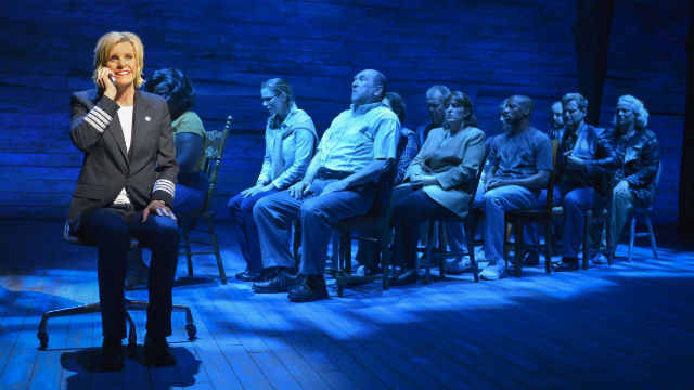 "A scene from ""Come From Away"" the the La Jolla Playhouse."