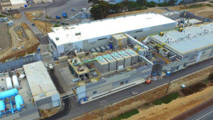 desalination plant in Carlsbad. Courtesy San Diego County Water Authority