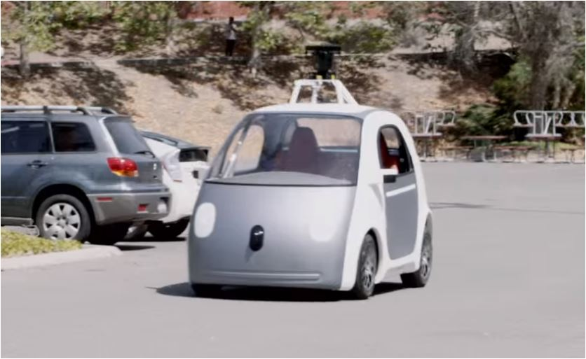 google driverless car A toyota prius that has been modified by google to operate as a driverless car this type of advanced robotic vehicle functions by sensing its environment and constantly updating its map it is intended to operate without human input | source.