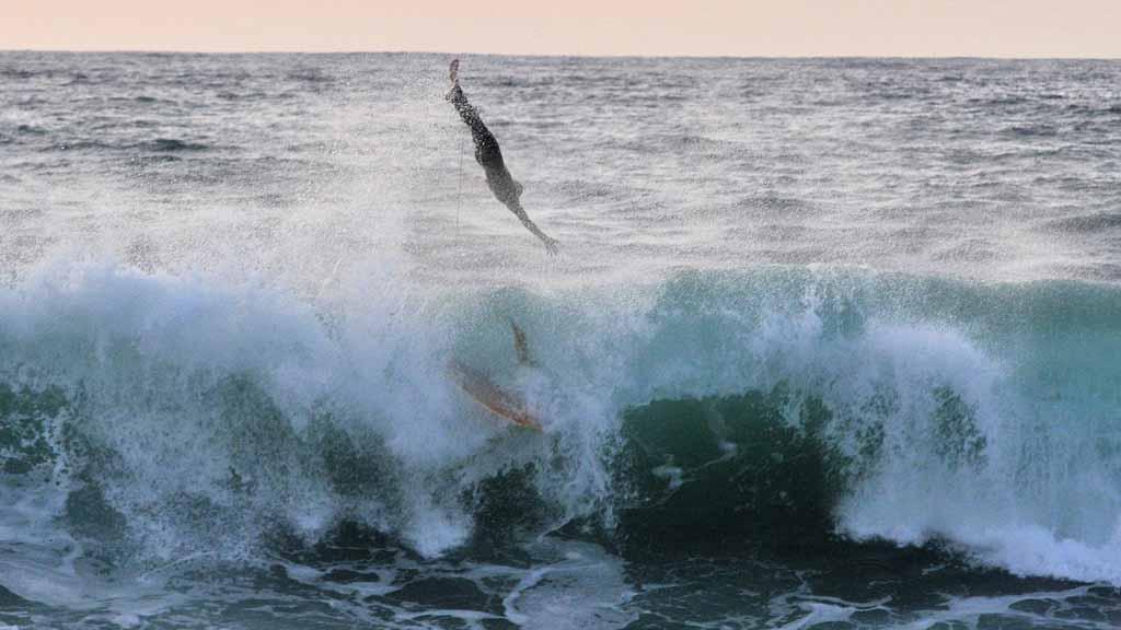 Big Waves Ocean Beach San Diego