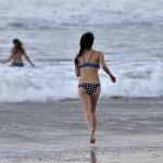 Swimmers at Ocean Beach