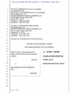 Judge Catherine Ann Bencivengo's order dismissing suit against SeaWorld (PDF)