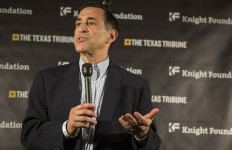 Rep. Darrell Issa speaks at a South by Southwest conference in Austin. Photo courtesy Issa's office