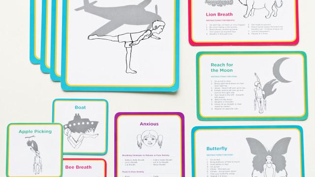 Asanas for Autism and Special Needs C.A.L.M.M. Yoga Toolkit. Photo courtesy of Shawnee Thornton Hardy