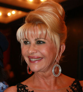 Ivana Trump in 2007. Photo by Christopher Peterson via Wikimedia Commons