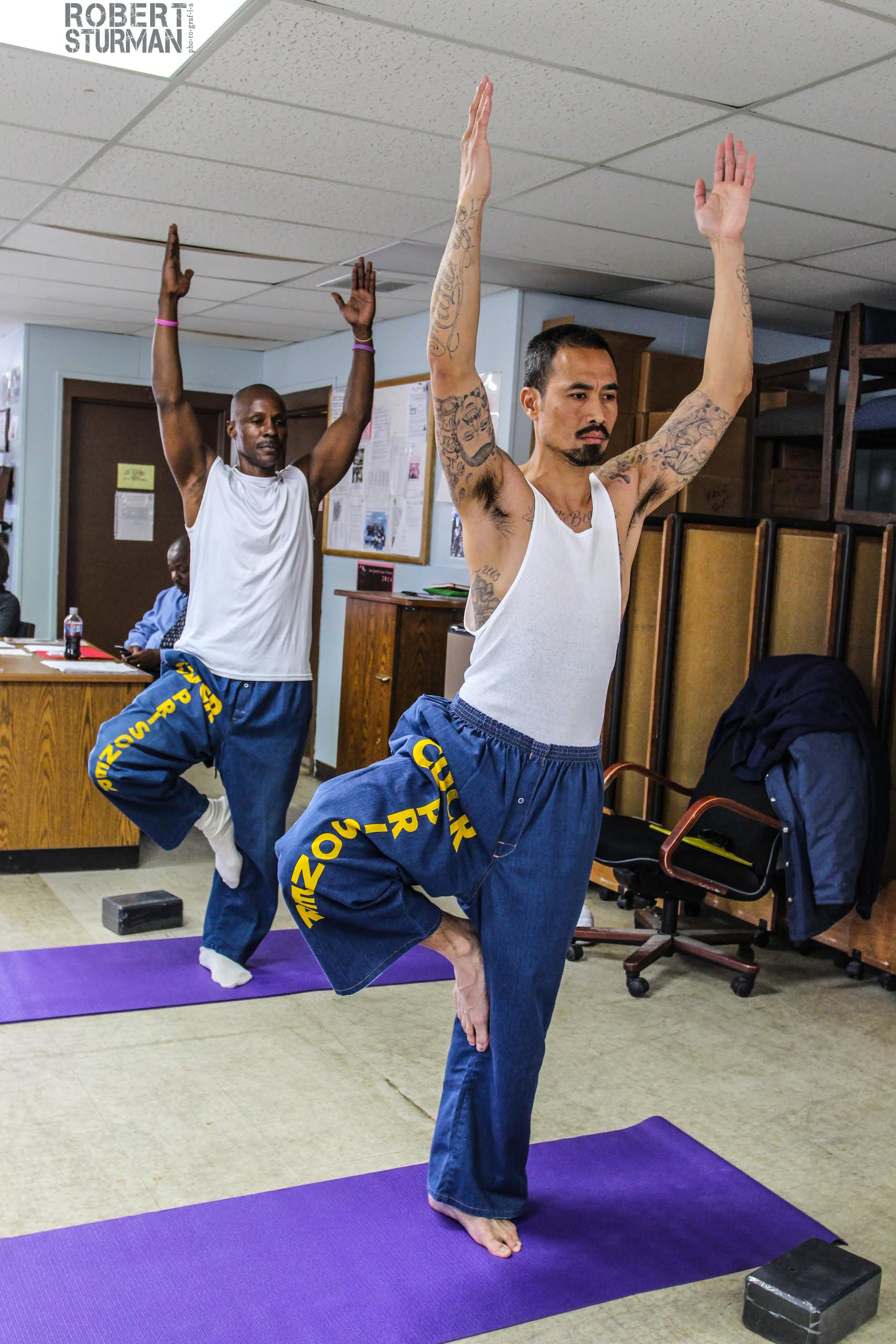 Prison Yoga Is Helping Inmates Transcend Their Cells: Practicing In The Prisons: Instructors Bring Yoga Behind