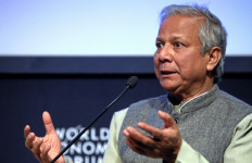 Muhammad Yunus at the World Economic Forum in Davos, Switzerland, in 2009. Photo via Wikimedia Commons