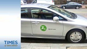 Zipcar in San Diego. Photo via jetsettimes