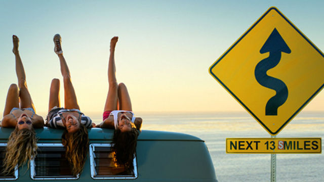 One of the images used in the San Diego Tourism Authority ad campaign.