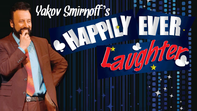 Yakov Smirnoff at the California Center for the Arts.
