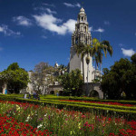 The California Tower in Balboa Park